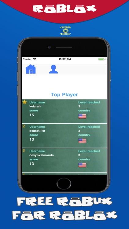 New Robux For Roblox Quiz screenshot-3