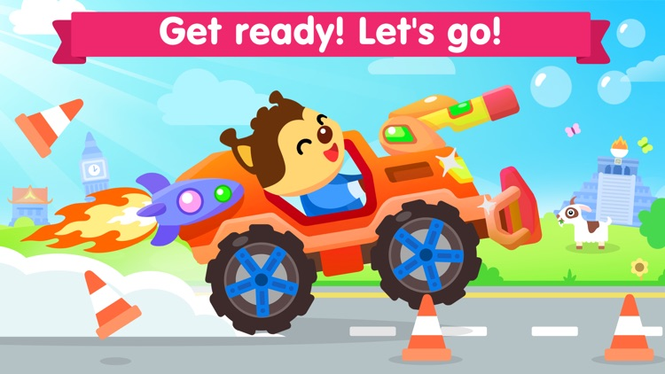 Car games for kids 3 years old screenshot-4
