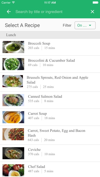 Skinny Kitchen Meal Plan screenshot-2