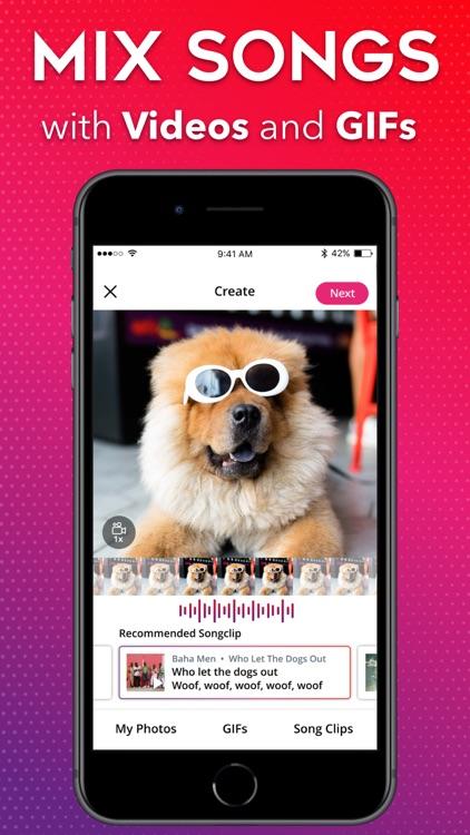 Songclip - Add Music to GIFs screenshot-0