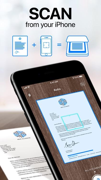 iScanner - PDF Scanner App screenshot-0
