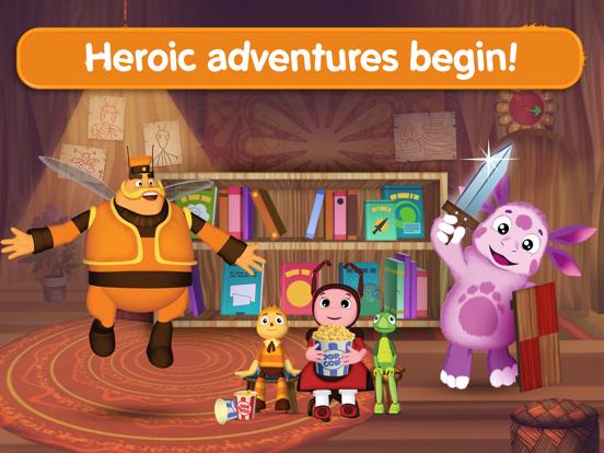 Ipad Screen Shot Moonzy: Little Heroic Tales! 0