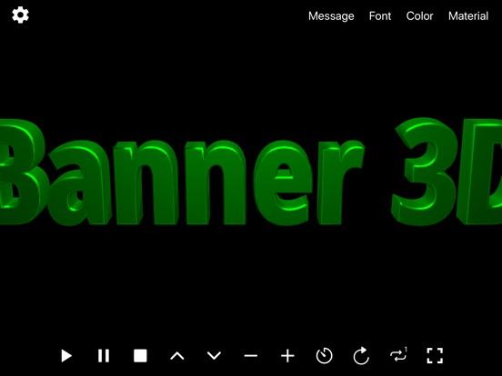 Banner 3D - scrolling text app screenshot 8