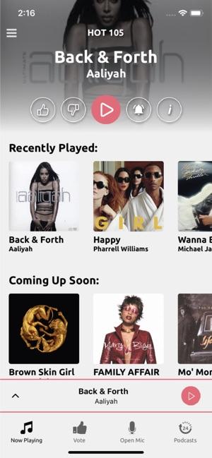 Hot 105 Fm Miami On The App Store