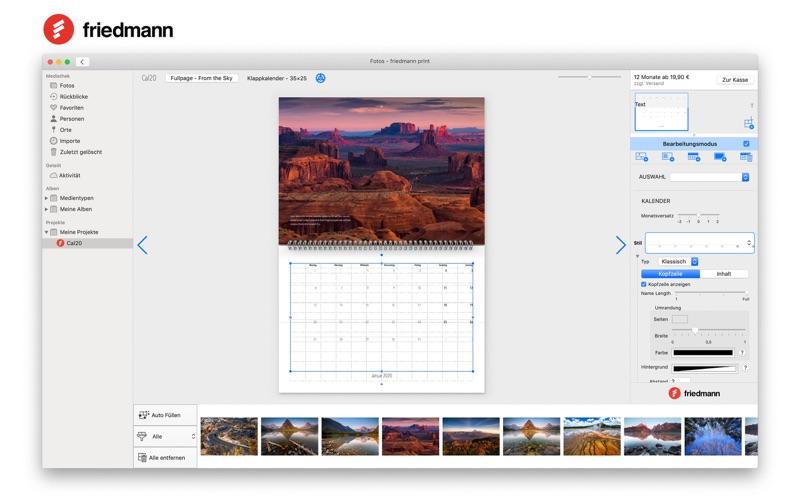 friedmann print for Mac