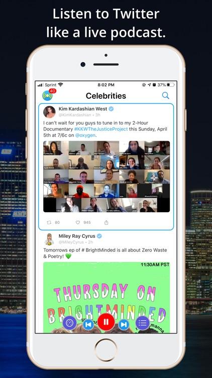 Social Speaker for Twitter