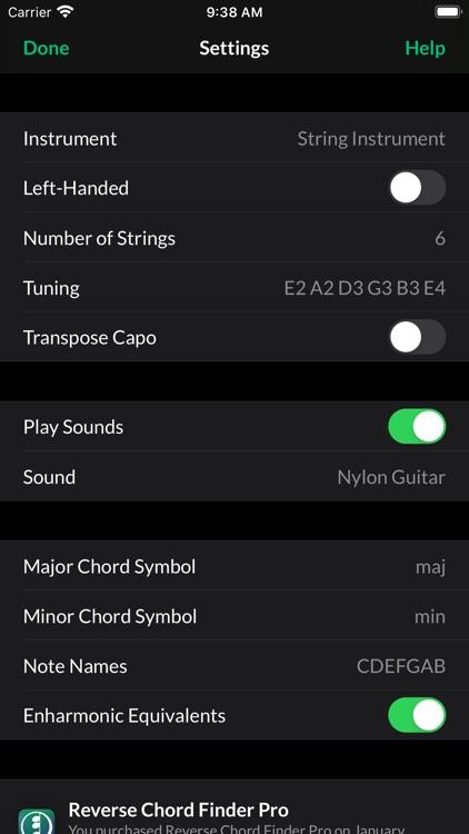 Reverse Chord Finder Pro screenshot-4