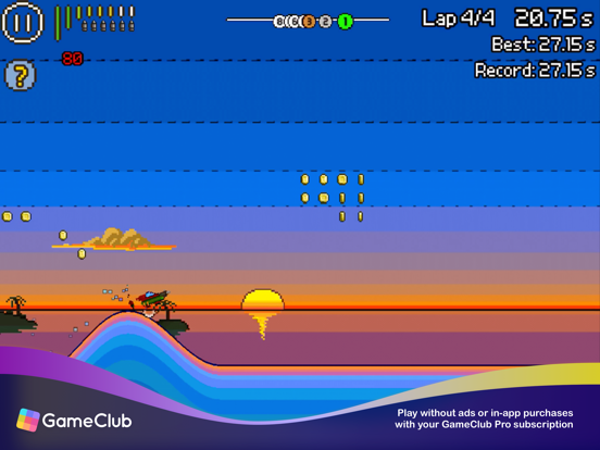 Pixel Boat Rush - GameClub screenshot 10