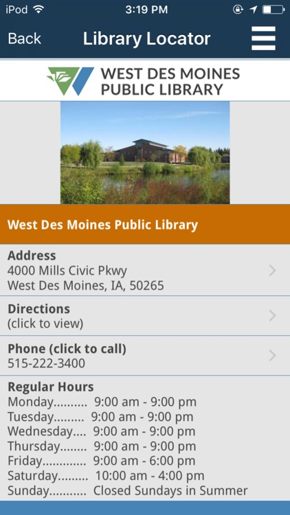 West Des Moines Public Library screenshot-4
