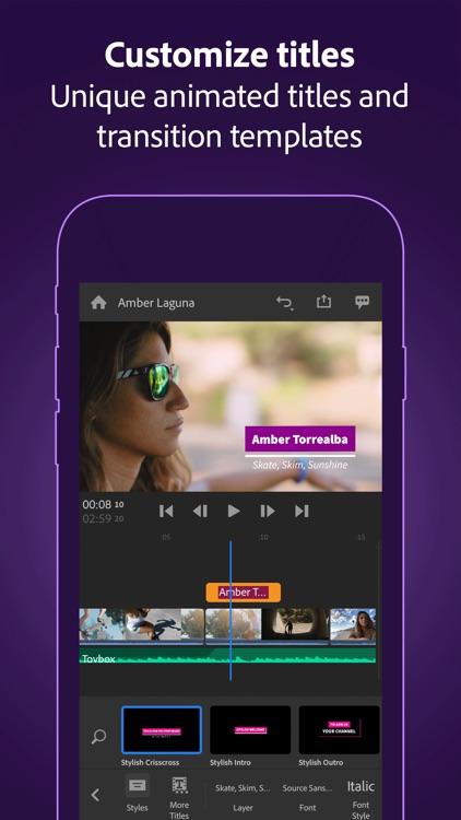 Adobe Premiere Rush for Video screenshot-7