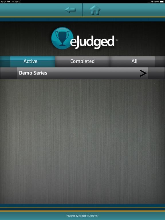 Screenshots for eJudged