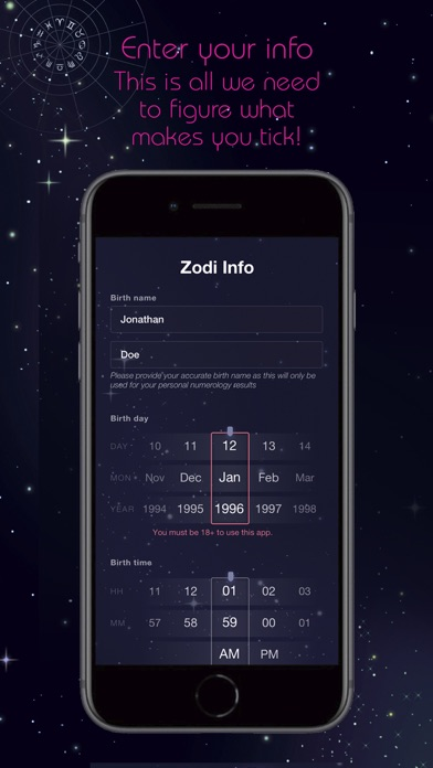 ZodiLuv - Astrological Dating screenshot two