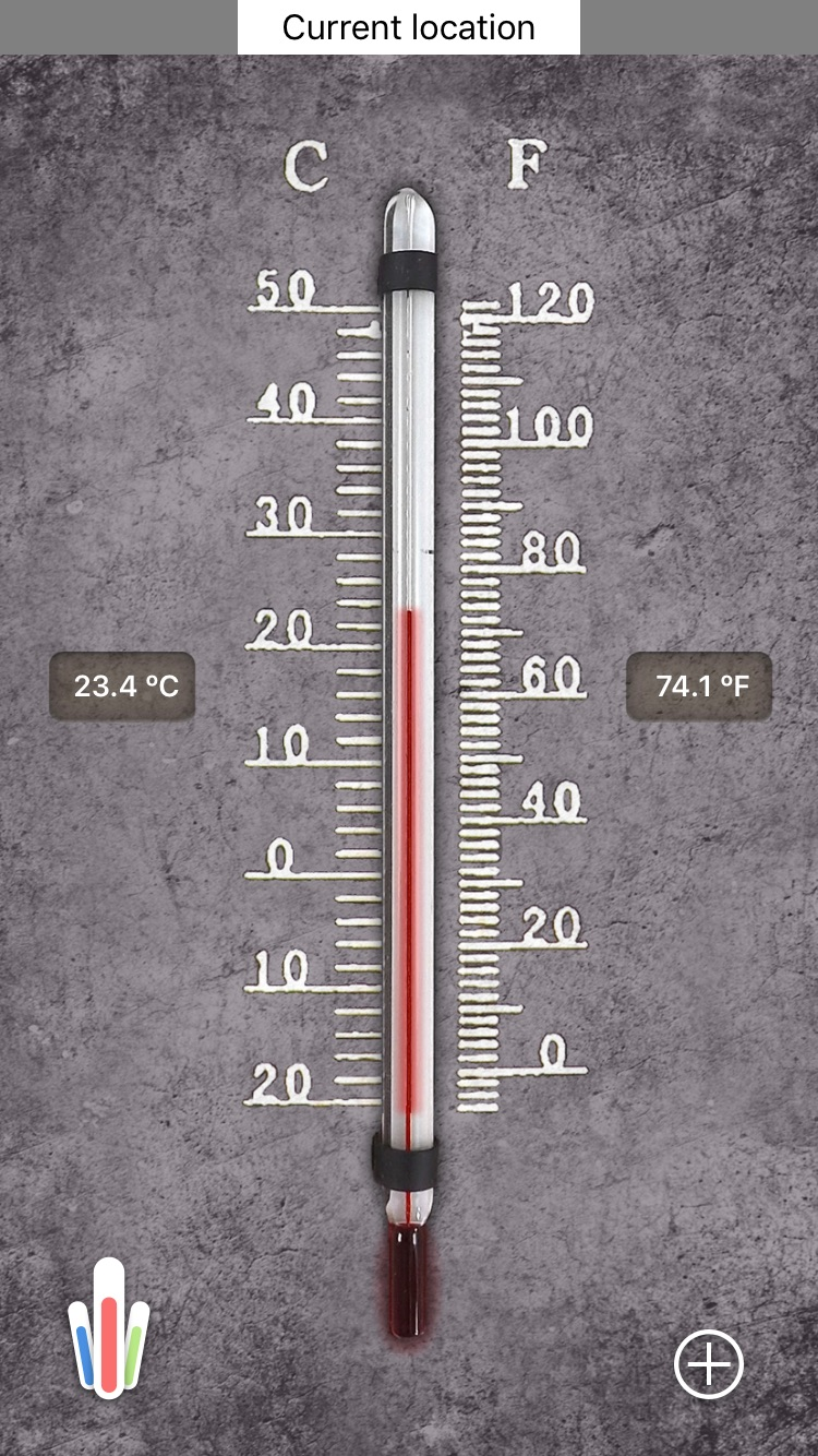HD Thermometer ⊎ Screenshot