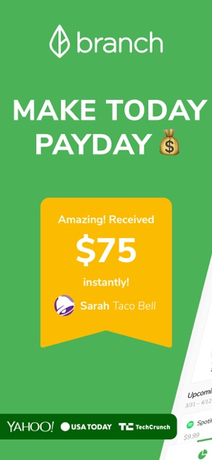 Branch: Budget & Get Paid Now on the App Store