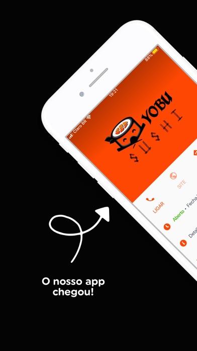 Yobu Sushi screenshot 1
