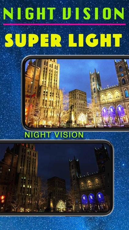 Night Vision Turbo: Real Light