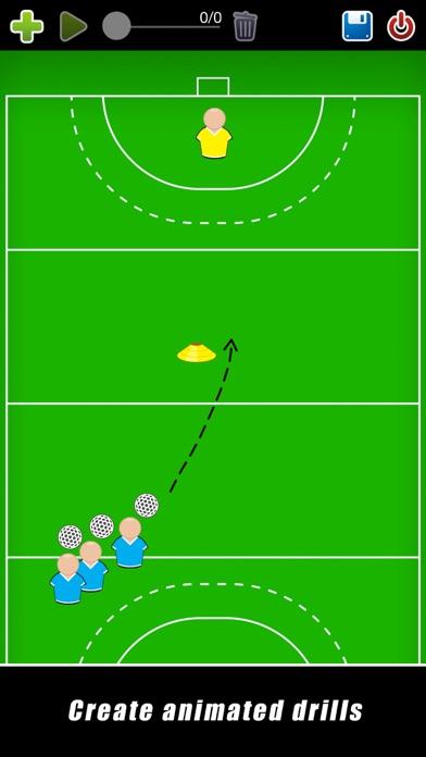 Screenshot for Coach Tactic Board: Hockey++ in Qatar App Store