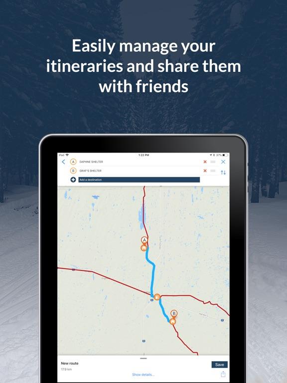 Sask Snowmobile Trails 2019-20 screenshot 9