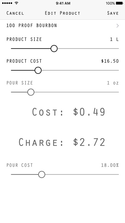 Pour Cost screenshot-4