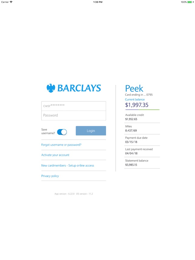 Barclays US on the App Store