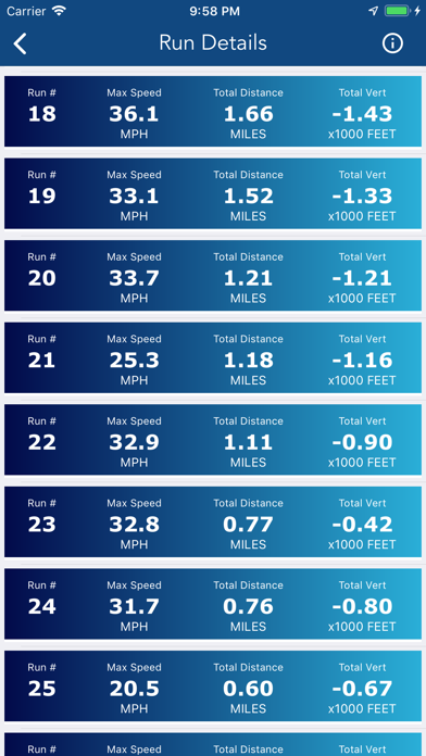 Ski Tracker & Snow Forecast screenshot 4