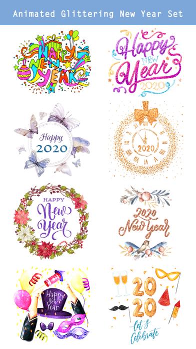 Happy New Year 2020 - Animated screenshot two