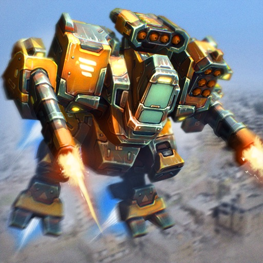 Robot Rampage: Earth Attack iOS App