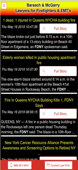 FDNY Calendar Fire & EMS on the App Store