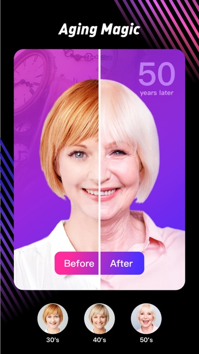 OopsCam - Art Filter,Age Magic Screenshot