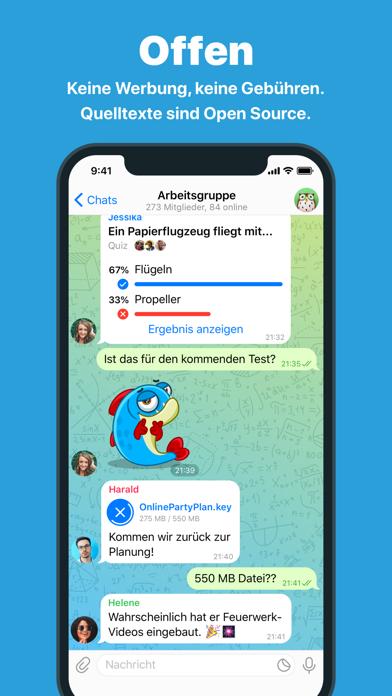 messages.download Telegram Messenger software