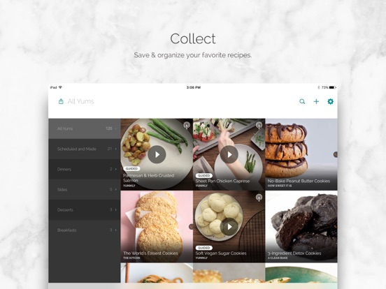 Yummly Recipes + Shopping List screenshot