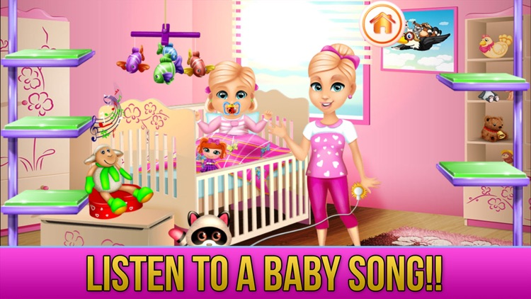 New Baby Sister Makeover Game screenshot-7