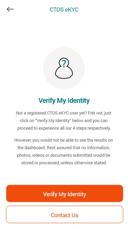 CTOS EKYC Verification