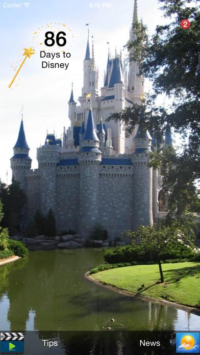 Countdown for Disney Screenshot