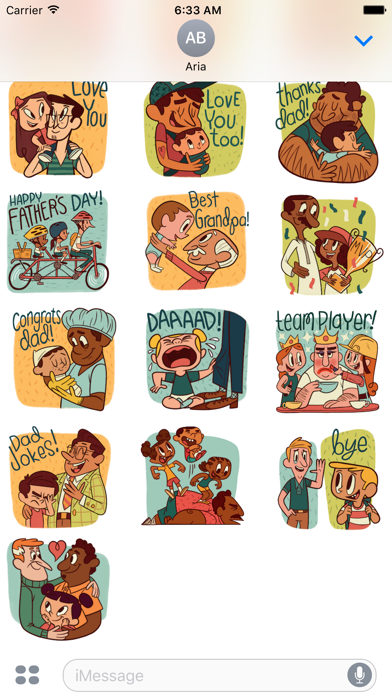 Happy Father Day Sticker Pack screenshot 2