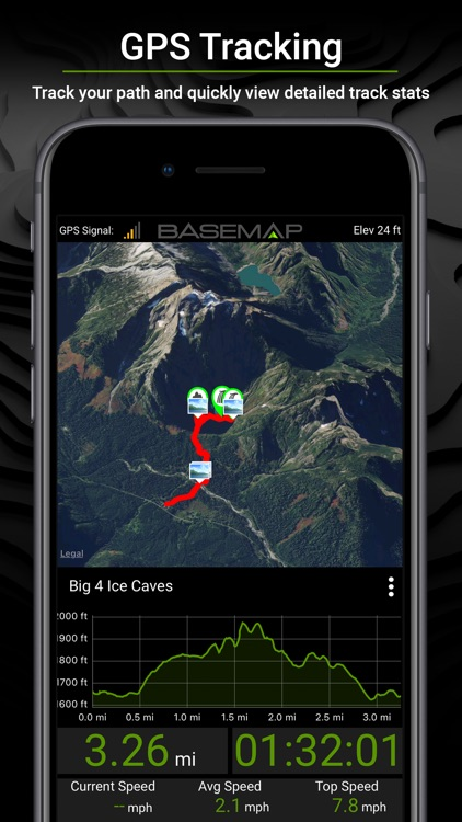 BaseMap: 3D Hunting GPS Maps screenshot-9