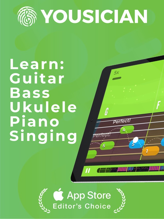 Yousician - Piano, Guitar, Bass, Ukulele - Learn and play songs with the ultimate music education app screenshot