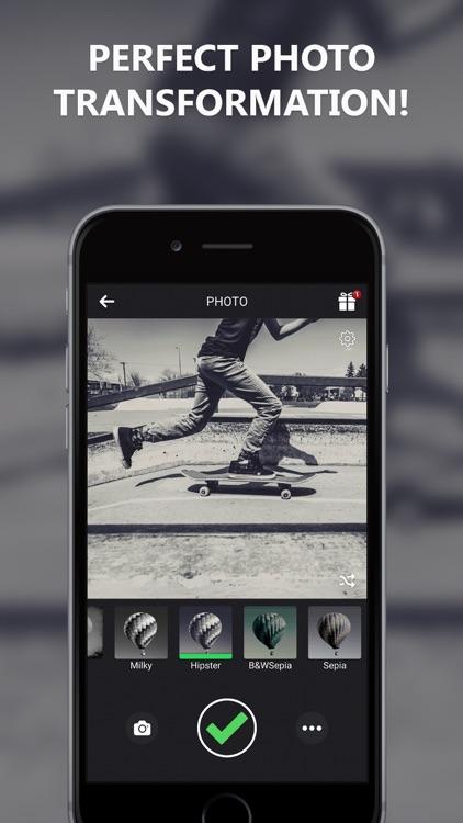Black and White Camera for IG screenshot-4