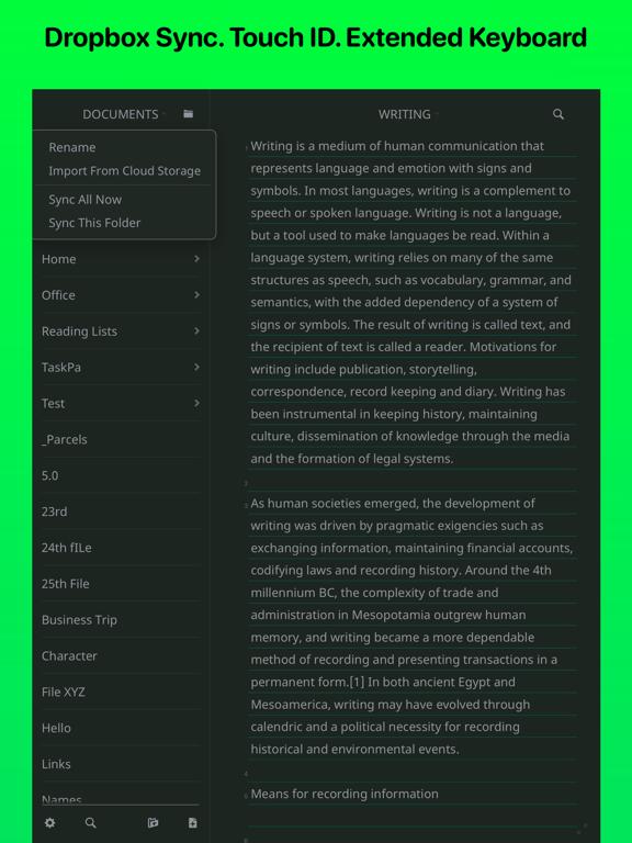 Writemator Screenshots