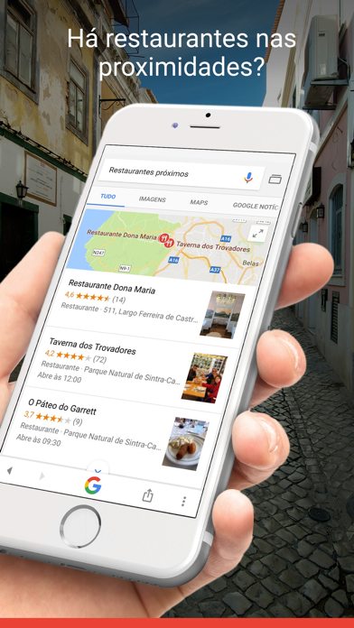 Screenshot for Google in Portugal App Store