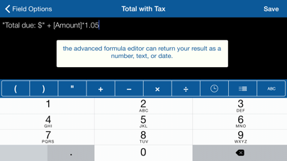Tap Forms Organizer review screenshots