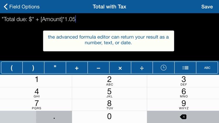 Tap Forms Organizer screenshot-4