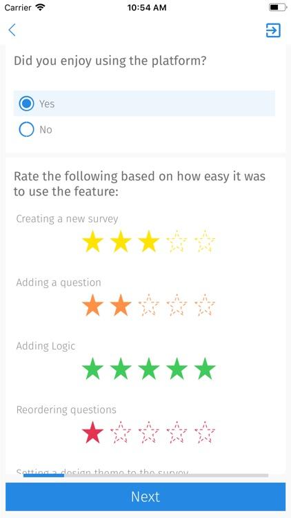 QuestionPro - Offline Surveys screenshot-6