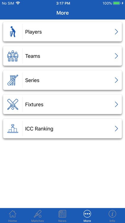 CrickOne - Live Cricket Scores screenshot-6
