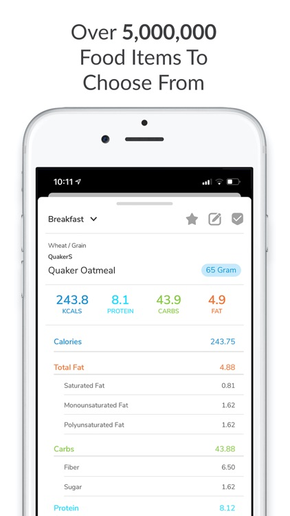 My Macros+ | Diet & Calories by Jason Loewy
