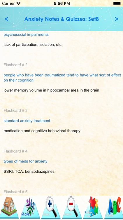 Anxiety Types, Sympt & Therapy