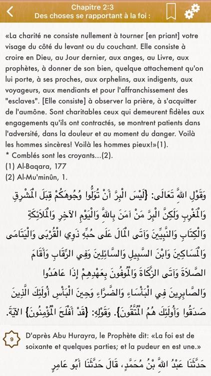Sahih Bukhari: Français, Arabe