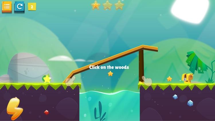 Physics Puzzle - Bounce & Roll screenshot-4