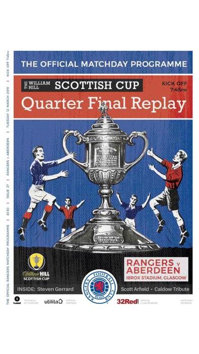 Rangers FC Digital Programme screenshot 5