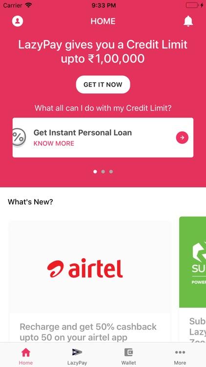 Personal Loan Online - LazyPay screenshot-4